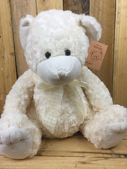 Small Cream Teddy Bear